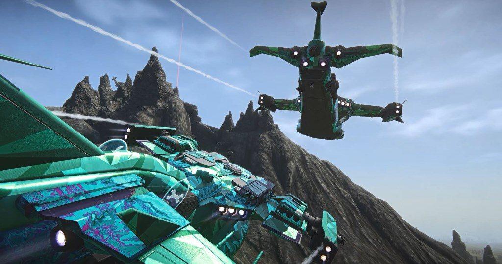 Planetside 2 Wasp Screenshot