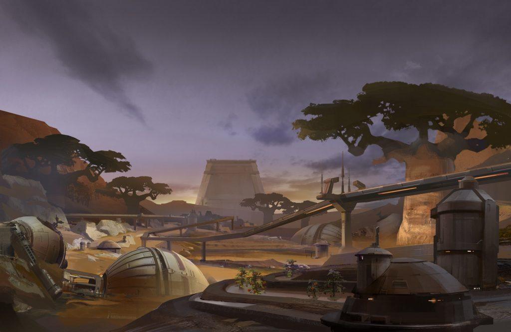 Teaser-Bild zum Event auf Dantooine