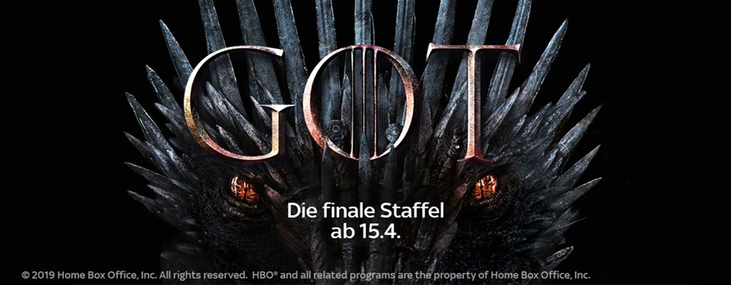 Game of Thrones: Sky Abo Deal zur 8. Staffel – 12,49 Euro monatlich