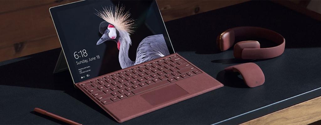 Surface Pro 6 mit 256 GB SSD, Type Cover und i5 für 1099 Euro bei Microsoft