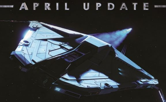 Titelbild Elite Dangerous Update April