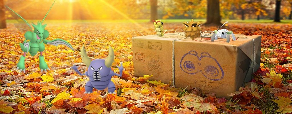 Käfer-Event in Pokémon GO: Alles über Quests, Boni und neue Shinys