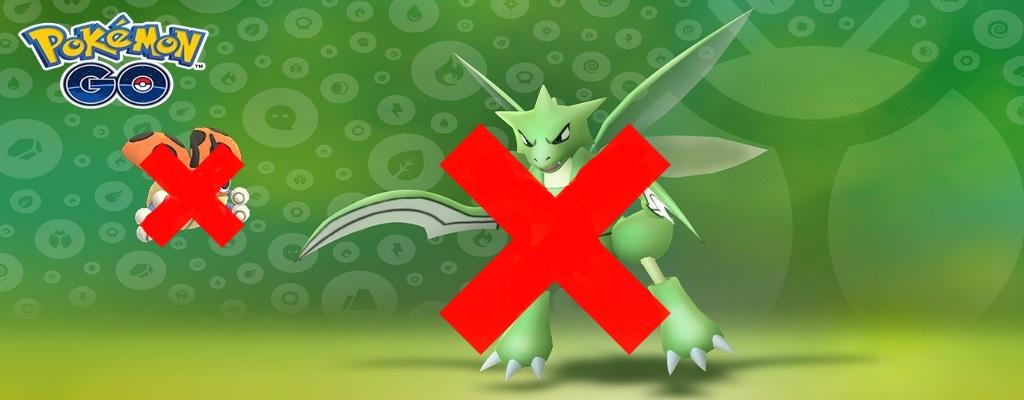Pokémon GO veranstaltet Käfer-Event und viele Spieler merken davon nichts