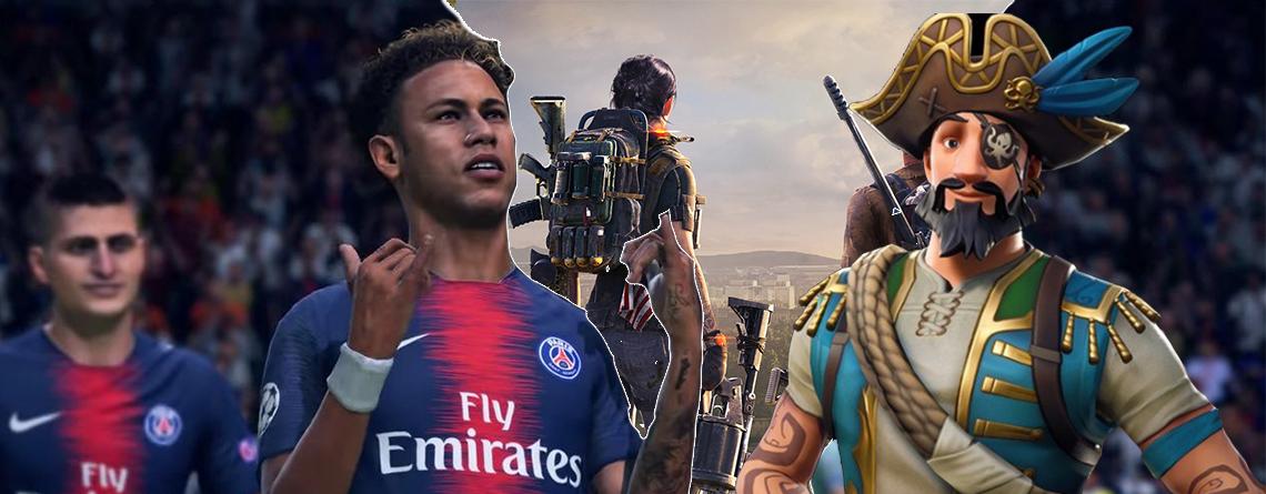 Das sind die 5 aktuell erfolgreichsten Spiele der Welt auf PS4, Switch und Xbox One