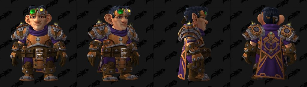 WoW Gnome Heritage Armor Male