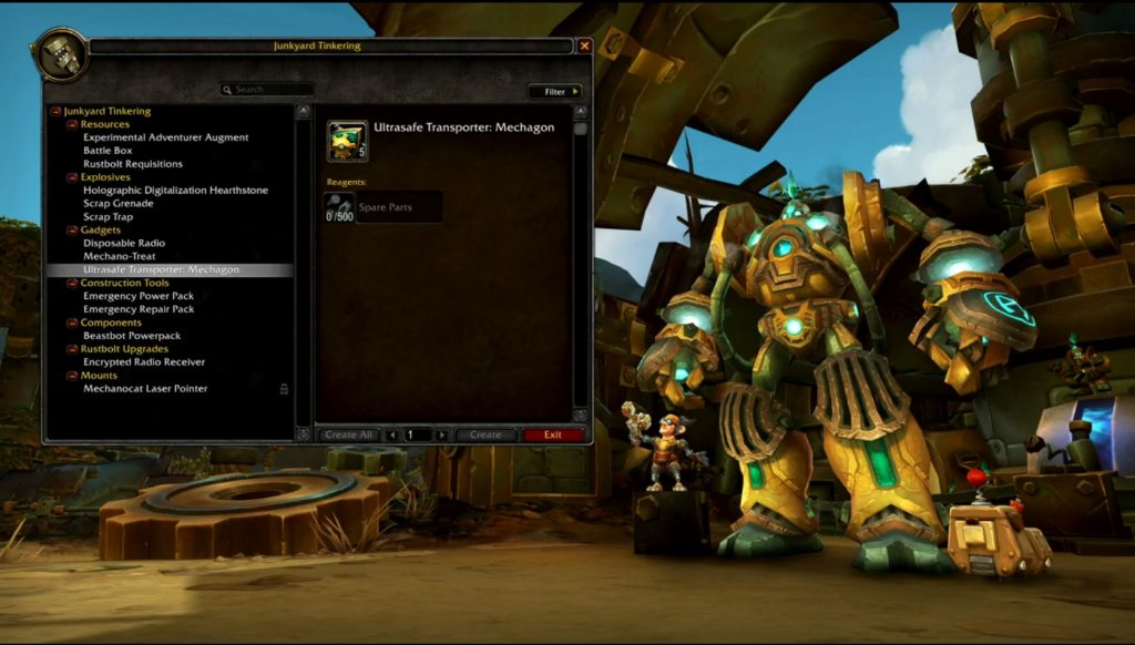 WoW Mechagon Turn in Robot