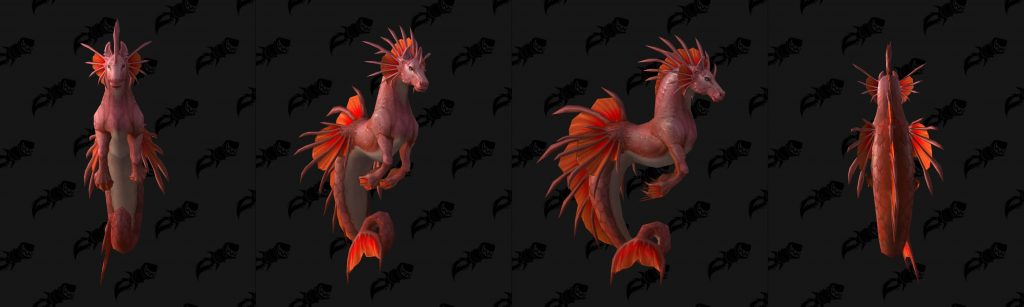 WoW Mount Patch 82 Seahorse 2