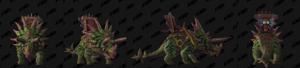 WoW Mount Patch 82 Terrorhorn