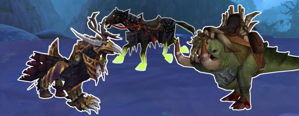 WoW Mounts on Water title 1140x445