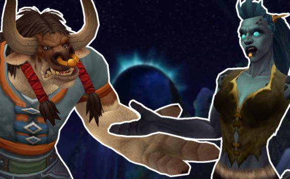 WoW Nachtraids haben ein Problem Troll und Taure fragen sich