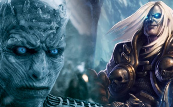 WoW Night King Arthas title 1140x445