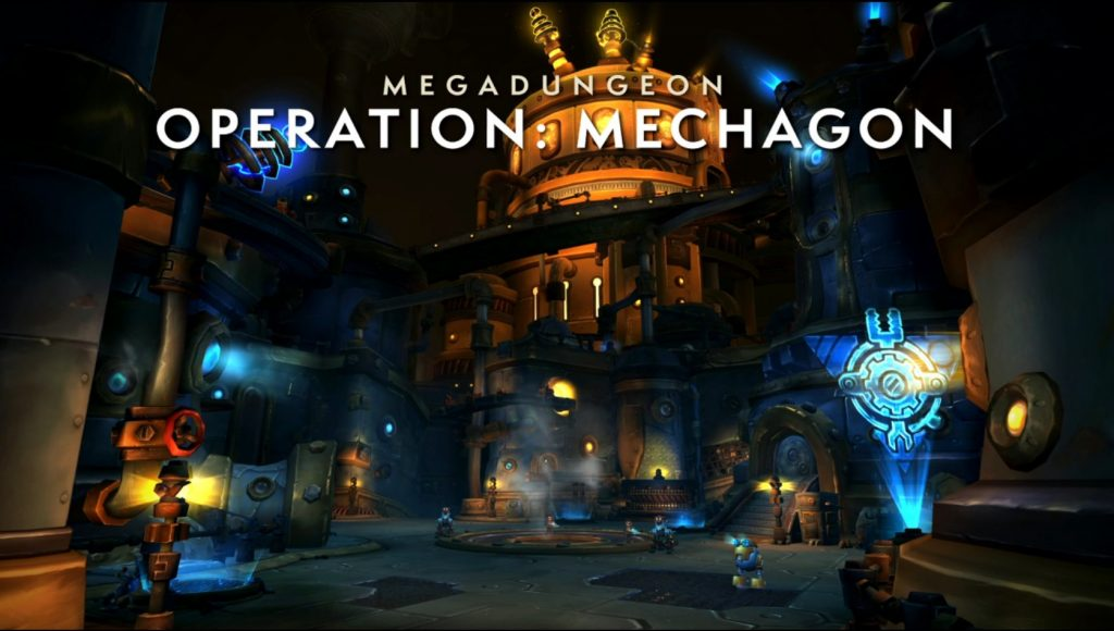 WoW Operation Mechagon Dungeon
