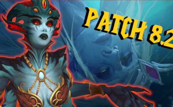 WoW Patch 82 Azshara title 1140×445
