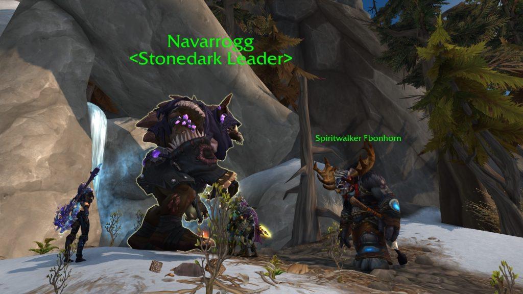 WoW Spiritwalker Ebenhorn Navarrogg Dragonquest