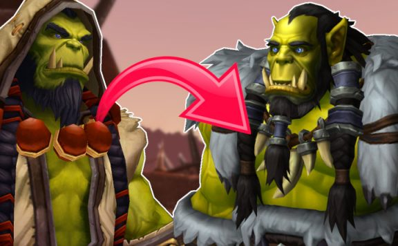 WoW Thrall new Modell title 1140x445