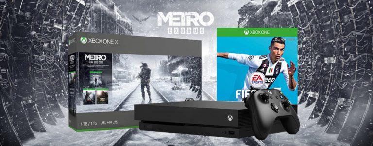 Xbox Bundle FIFA 19 gratis