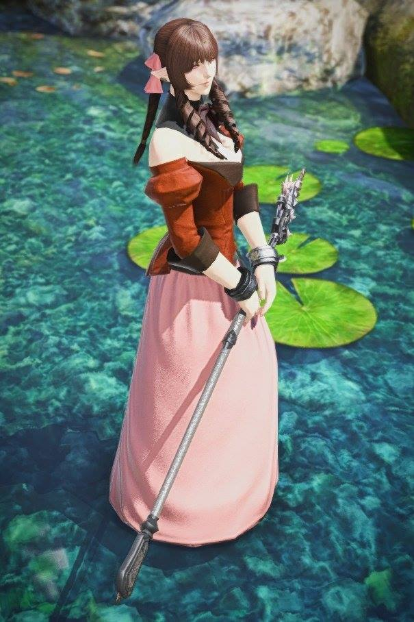 final fantasy xiv aerith cosplay
