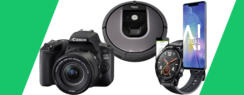 Amazon Frühlings-Angebote: Huawei Mate20 Pro, Canon-Kameras und Saugroboter