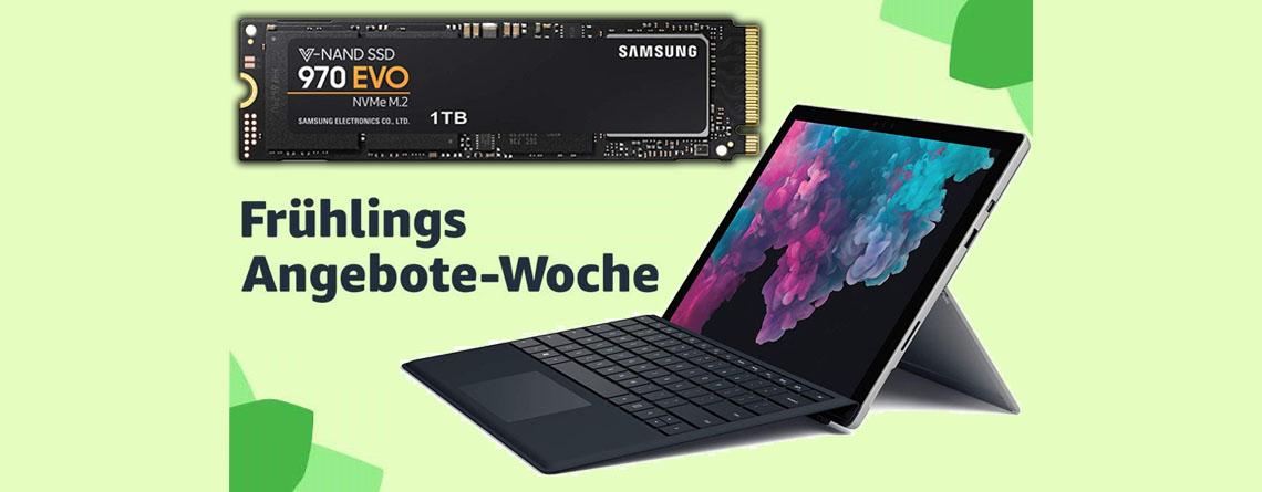 Amazon-Angebote: Surface Pro 6 und Samsung M.2 SSD stark reduziert