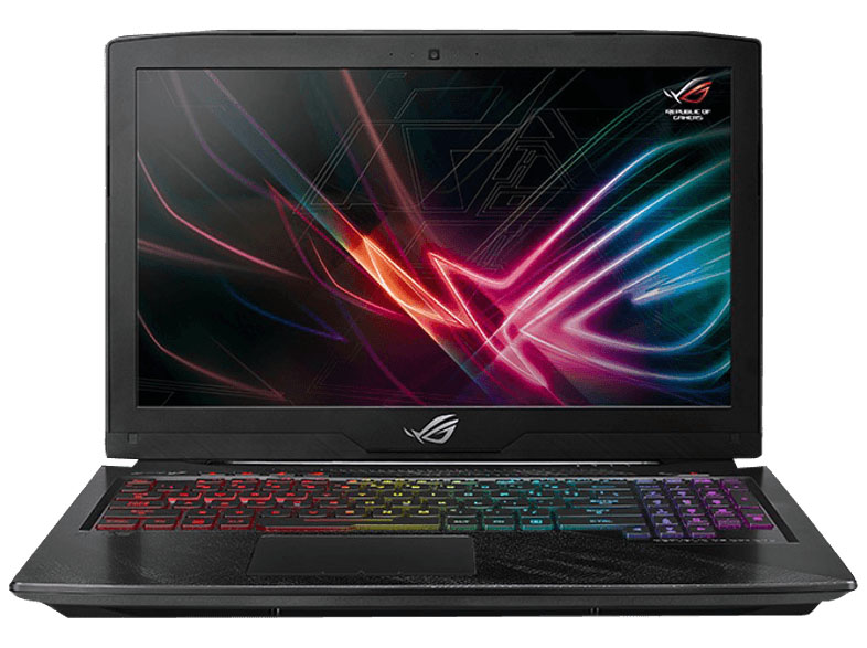 Das ASUS ROG Strix GL503GE Hero Gaming Notebook.