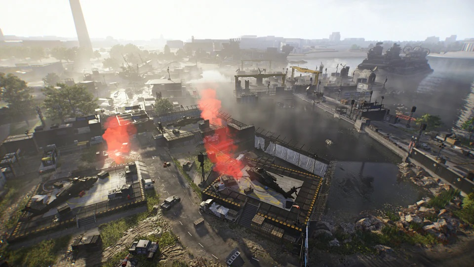 The Division 2 Tidal Basin Stronghold