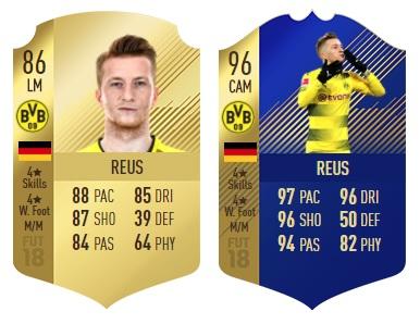 FIFA 18 - Reus Gold-Karte - Reus TOTS-Karte