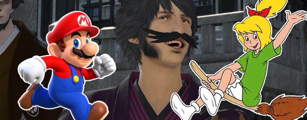So cool verkleiden sich Spieler in Final Fantasy XIV als Anime- und Gaming-Charaktere