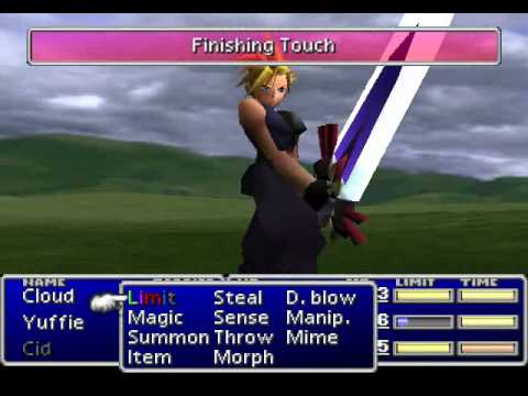 final fantasy vii cloud limit break