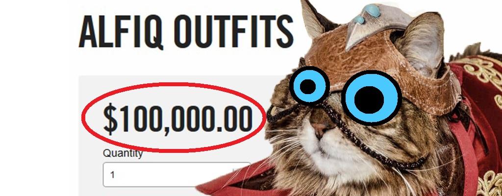 Will Bethesda echt 100.000 Dollar für ein Katzenkostüm in The Elder Scrolls Online?
