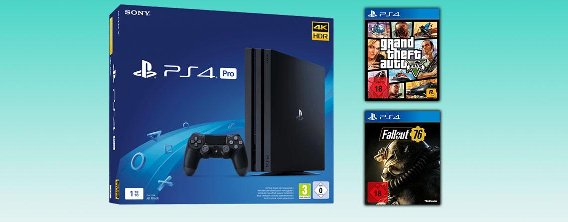 MediaMarkt Prospekt Angebote: Leise PS4 Pro im Bundle günstiger
