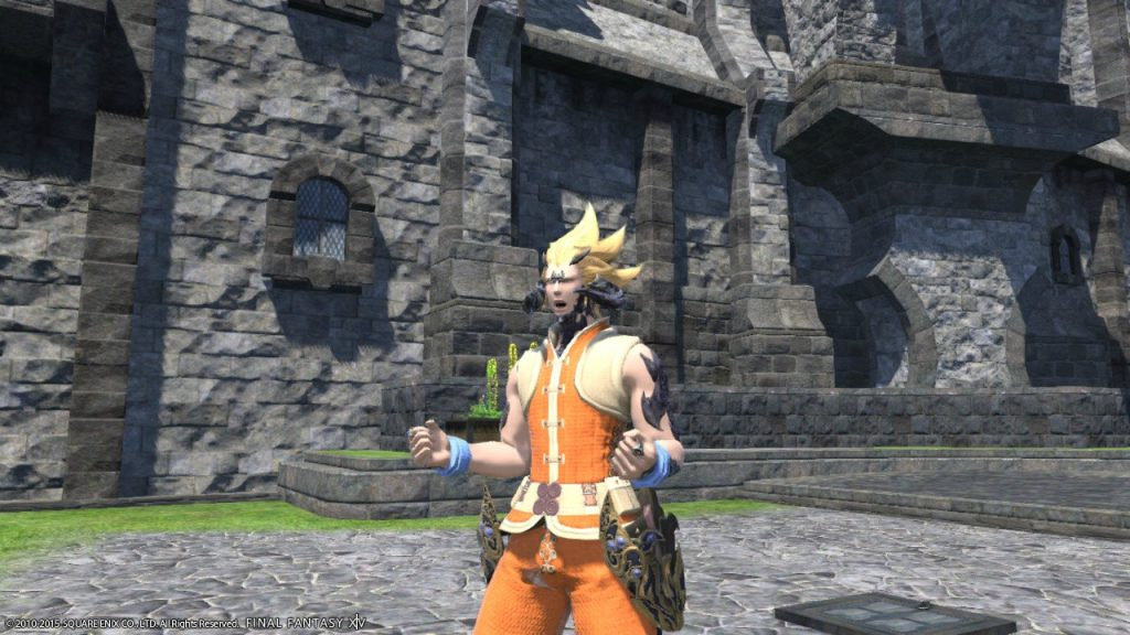 final fantasy xiv son goku cosplay 2