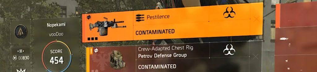 pestilenz kontaminiert