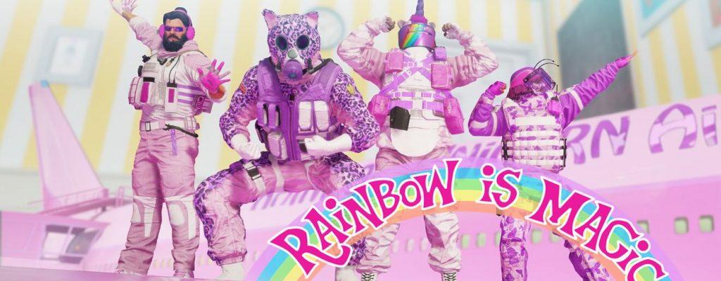 Darum lieben die Spieler das April-Event in Rainbow Six Siege, obwohl es alles rosa macht
