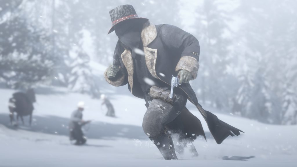Red Dead Redemption 2 Red Dead Online Winter-Flintenmantel