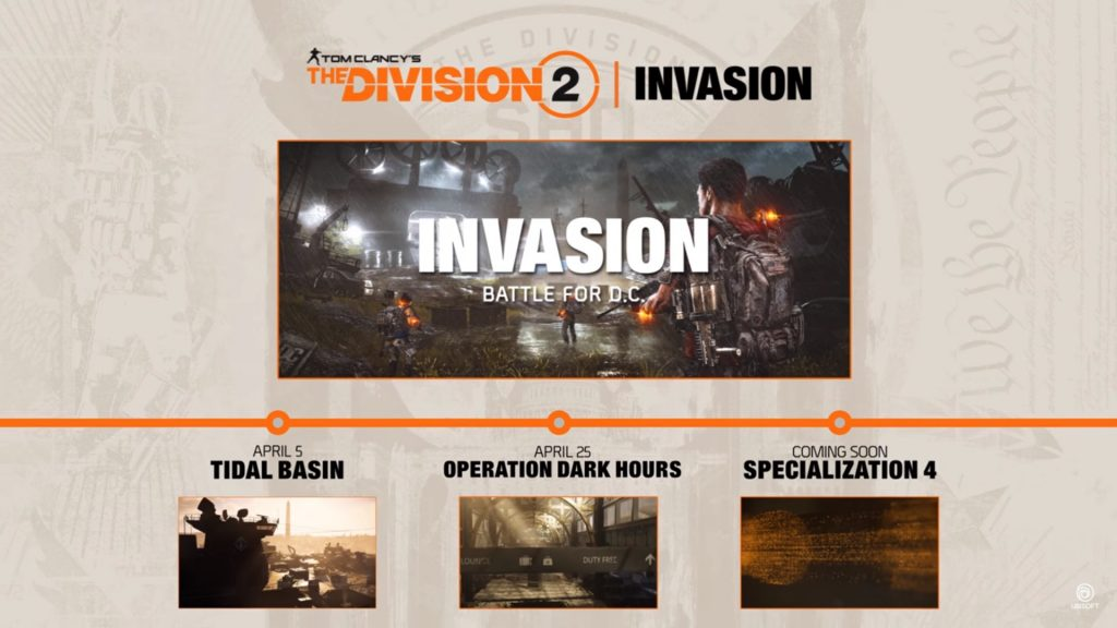 the division 2 invasion