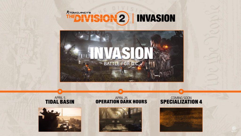 the division 2 invasion