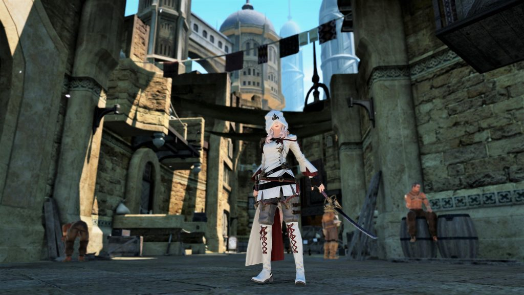 final fantasy xiv assassin__APO__s creed cosplay 1