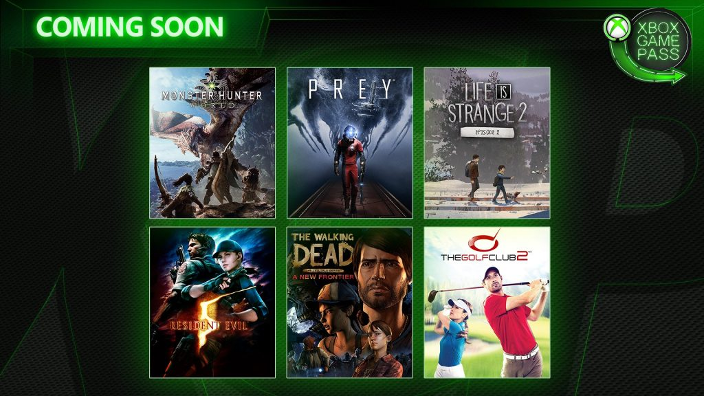 Xbox Game Pass April Monster Hunter World