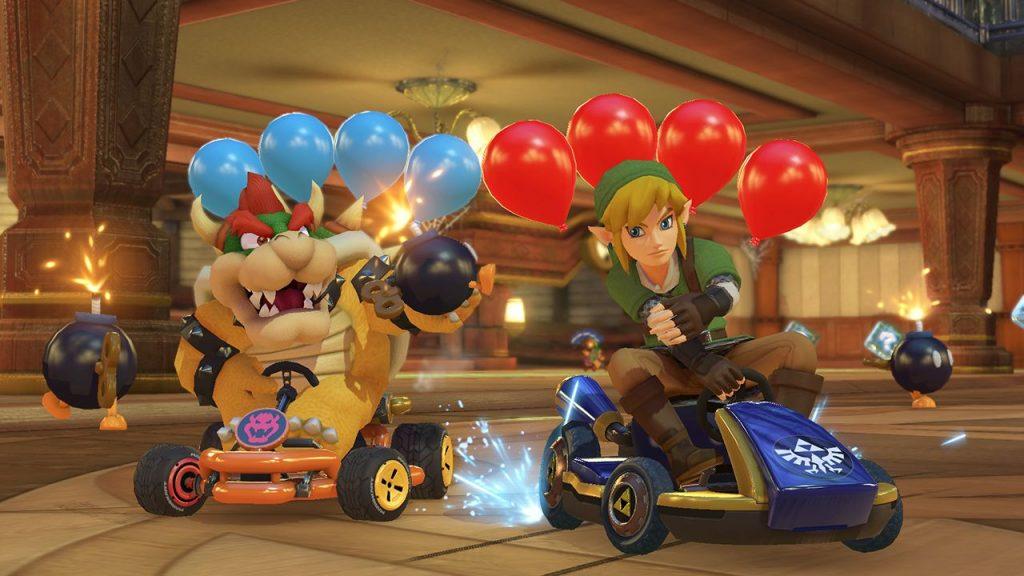 Mario Kart 8 Deluxe Ballonschlacht
