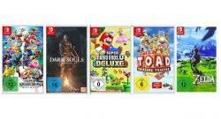 5 Switch-Spiele ab 100 Euro