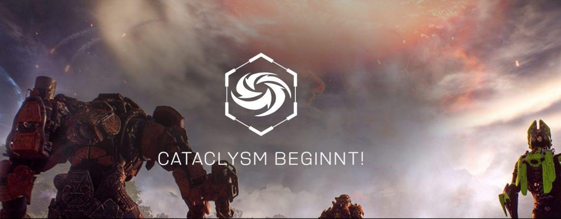 Homepage von Anthem verspricht noch immer Cataclysm im Mai