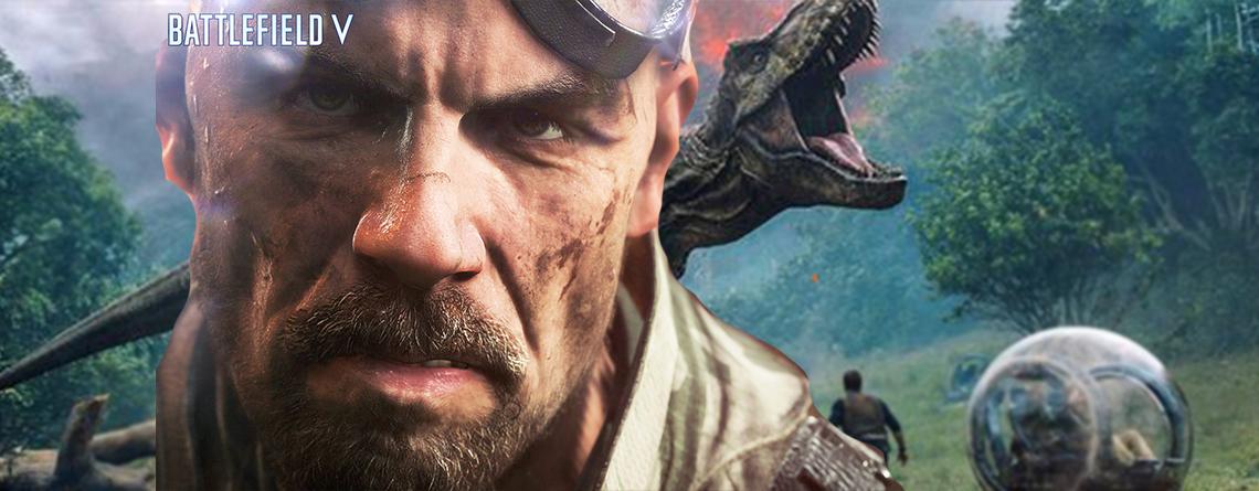 Könnte sein, dass ihr in Battlefield 5 bald Dinos abballert