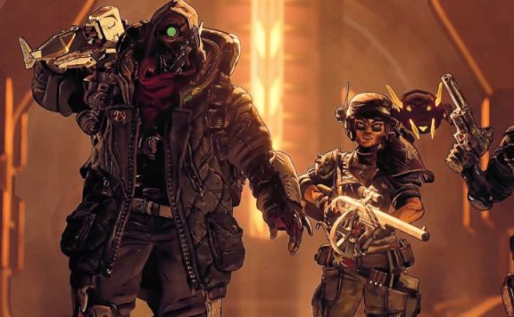 Borderlands 3 Vault Hunters Walking title 1140x445