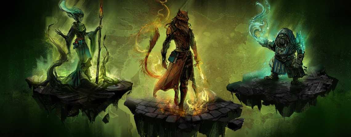 Im MMORPG Camelot Unchained bastelt und benennt Ihr Eure Fähigkeiten selbst
