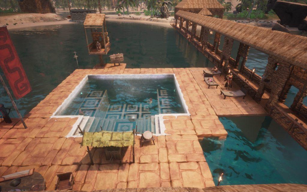 Conan Exiles Bauideen Swimming Pool