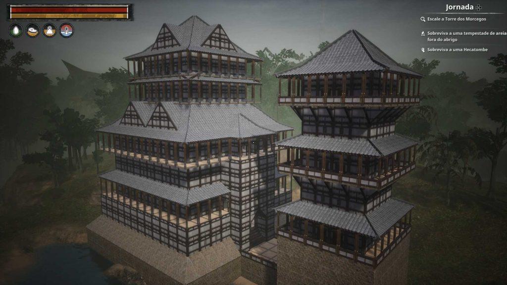 Conan Exiles Bauideen japanischer Tempel