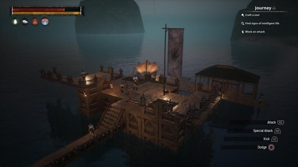 Conan Exiles Bauideen schwimmende Insel