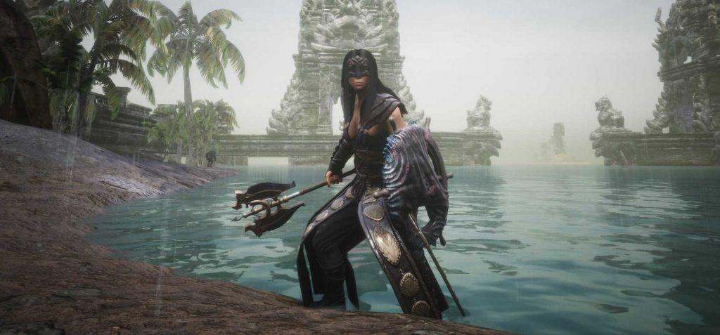 Conan Exiles Lemurianische Kriegerin