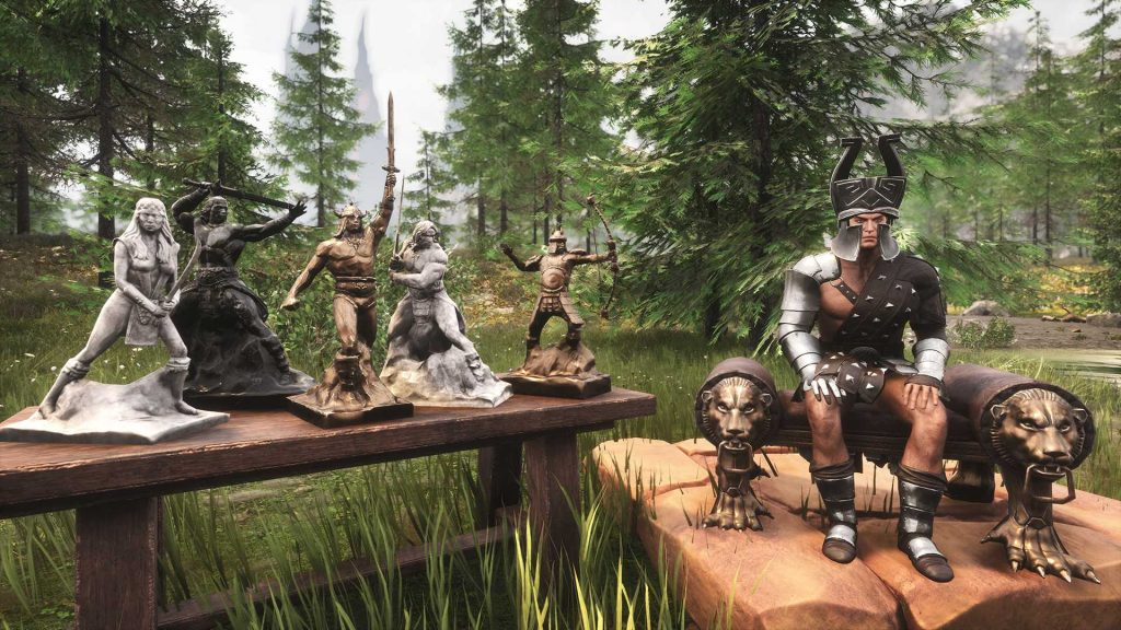 Conan Exiles Riddle of Steel DLC Figuren