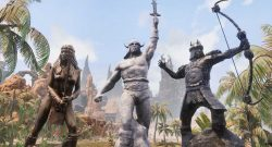 Conan Exiles Riddle of Steel DLC Statuen Titel